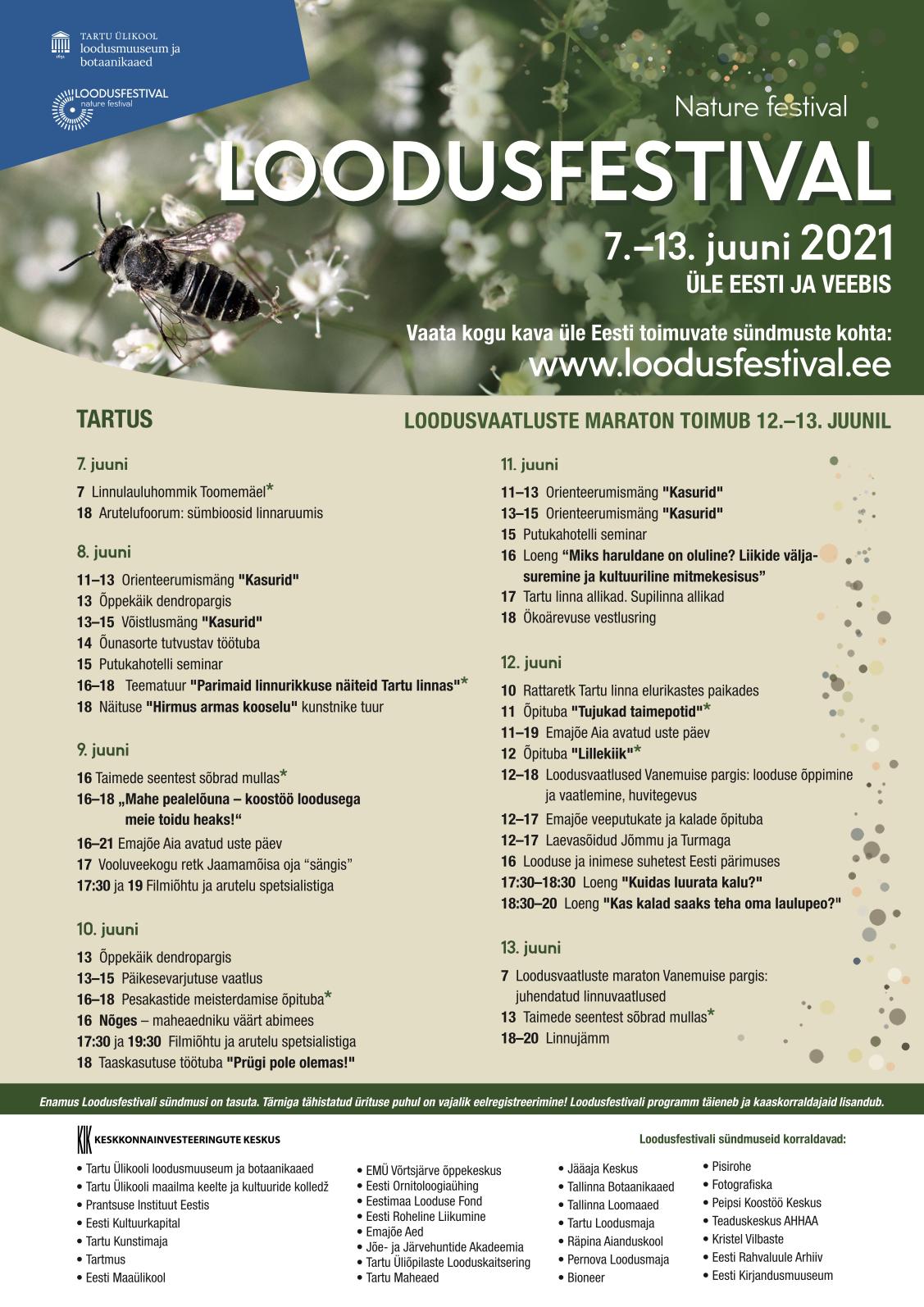 Loodusfestivali kava 2020